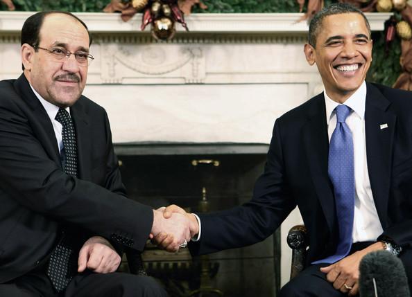 Малики встречается с Обамой.