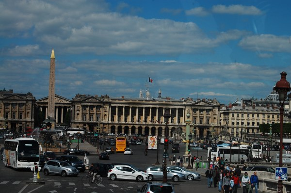 Place De La Concorde Open Letter Paris
