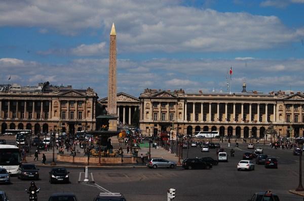 Place De La Concorde Open Letter Paris