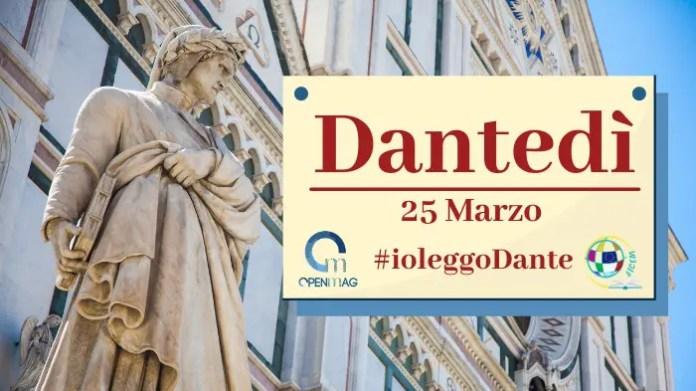Dante si perde in una selva oscura
