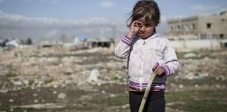Bombardamenti Siria Bambini