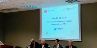 """""""Canada to Italy"""", conferenza organizzata da Utopia e Formiche, con Ambasciata del Canada, del ministero degli Affari Esteri e dello Sviluppo Economico"""
