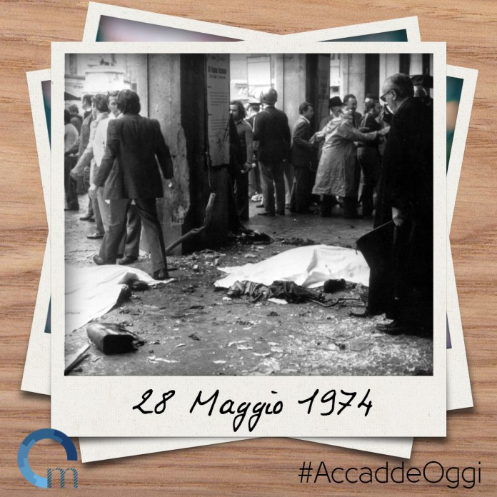 28 maggio 1974: strage piazza della Loggia