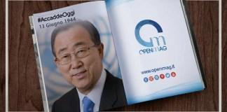 13 giugno 1944: nasce Ban Ki-moon