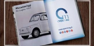 2 luglio 1957: la FIAT presenta la 500