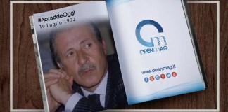 19 luglio 1992: la mafia uccide Paolo Borsellino