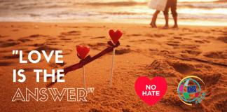 Love no hate speech