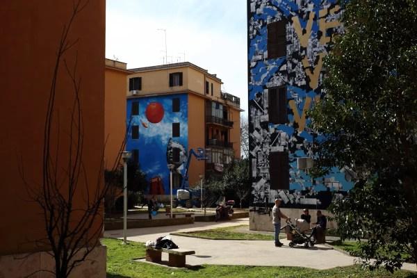 Street art, colori e parole per ricostruire Amatrice