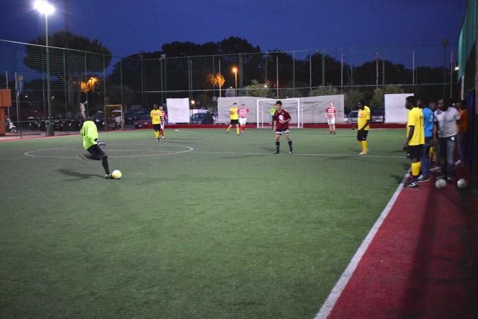 Sport senza confini all'Olimpico giocano i migranti