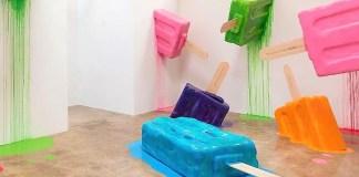 Il museo del gelato, la neo-pop e la golosità