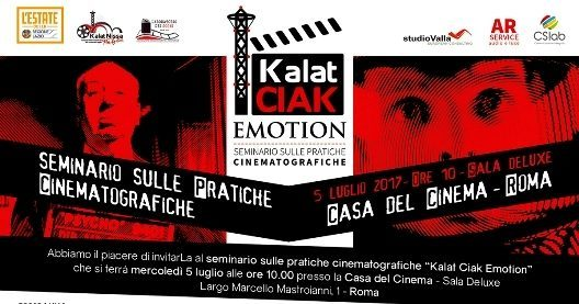 """Kalat Ciak Emotion"", è nuovo slancio al cinema italiano"
