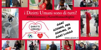 Diritti Umani: da Aicem una sciarpa per ogni strada
