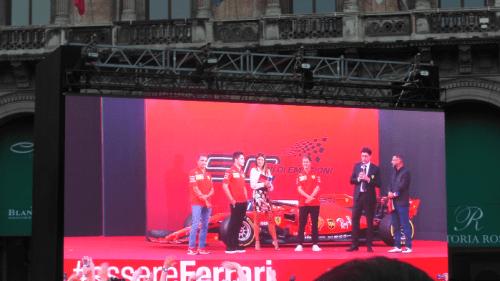 GP d'Italia: Milano si colora di Rosso per i 90 anni della Ferrari!