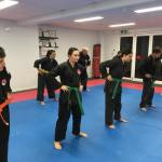warmup at Open Mat Martial Arts Clarkson