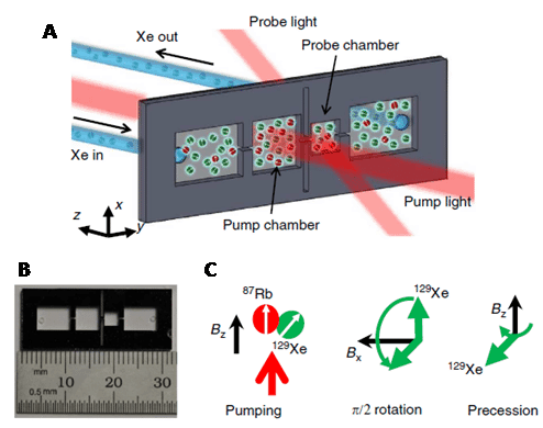 Figure 23 shows a microfluidic chip 129Xe nmr active nuclei