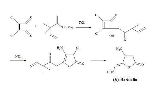 Figure 12. Synthesis of (E)-basidalin