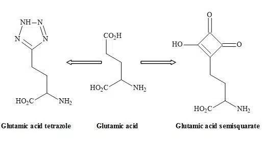 Figure 22. Tetrazole – semisquarate interchange
