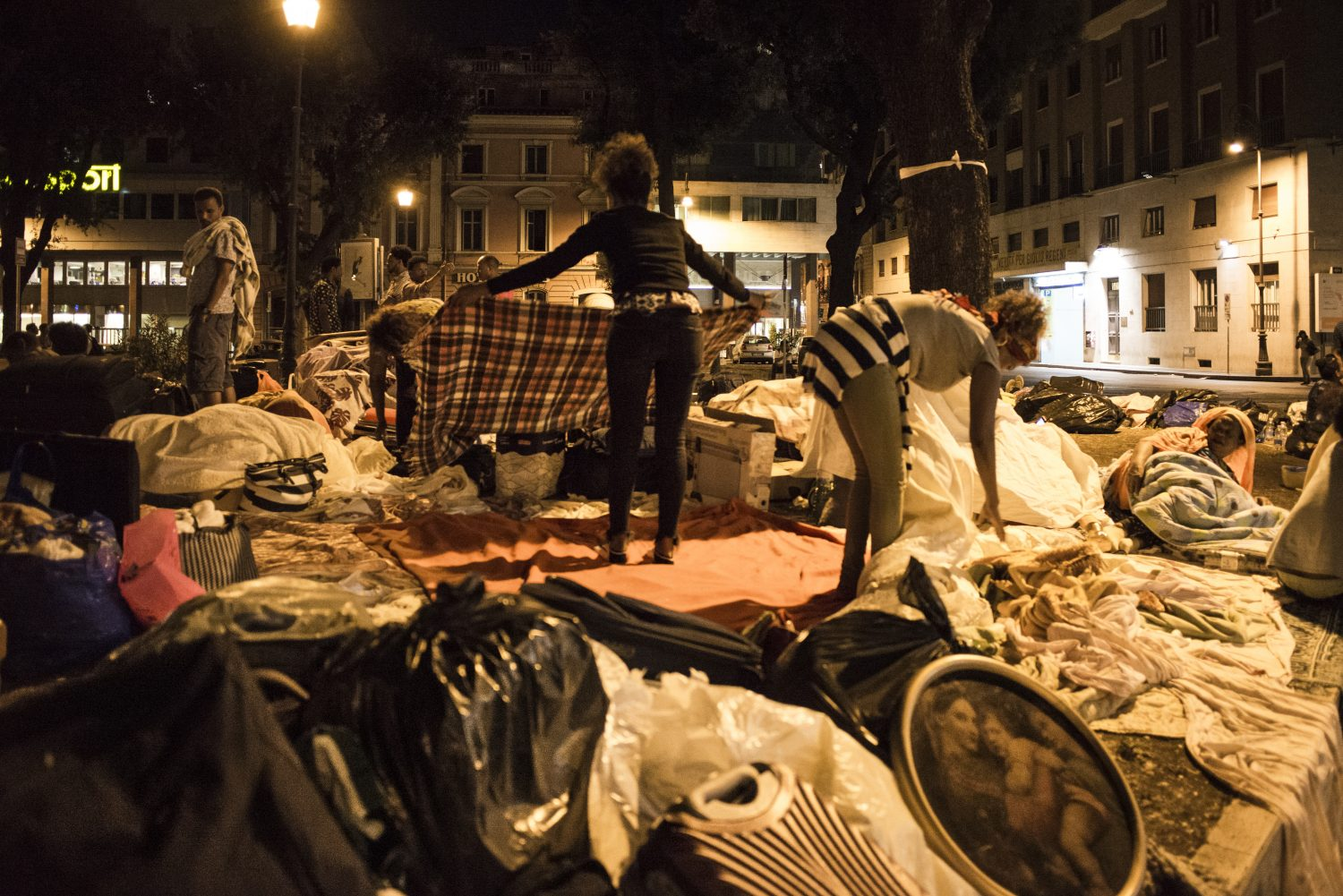 There is no home for refugees in Rome  Open Migration