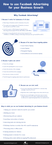 Infographic How to use Facebook Advertising for your Business growth