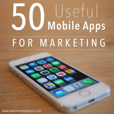 50 useful mobile apps for marketing