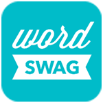 Wordswag app