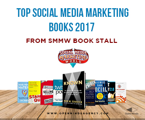 Top Social Media Marketing Books 2017: from SMMW bookstall