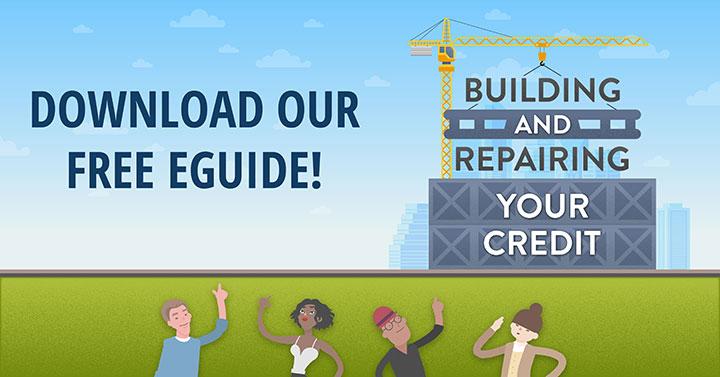 Credit Repair e-guide image
