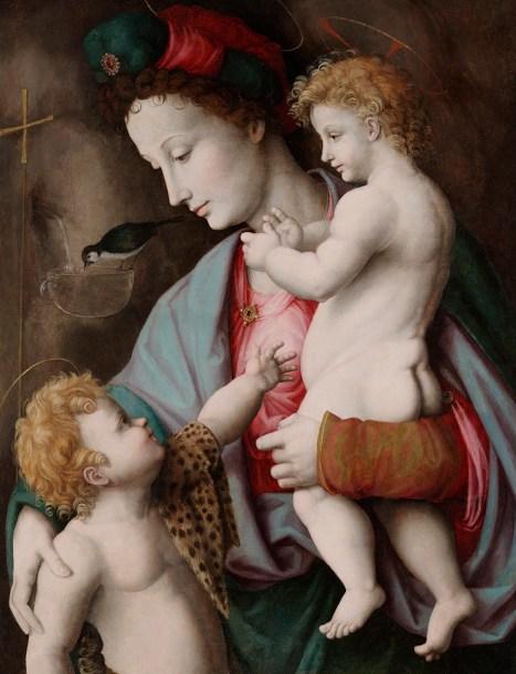Bacchiaccha, Madonna mit Kind und Johannesknaben, 1525, Dallas, Museum of Art