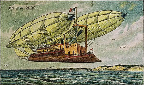 France_in_XXI_Century._Air_ship