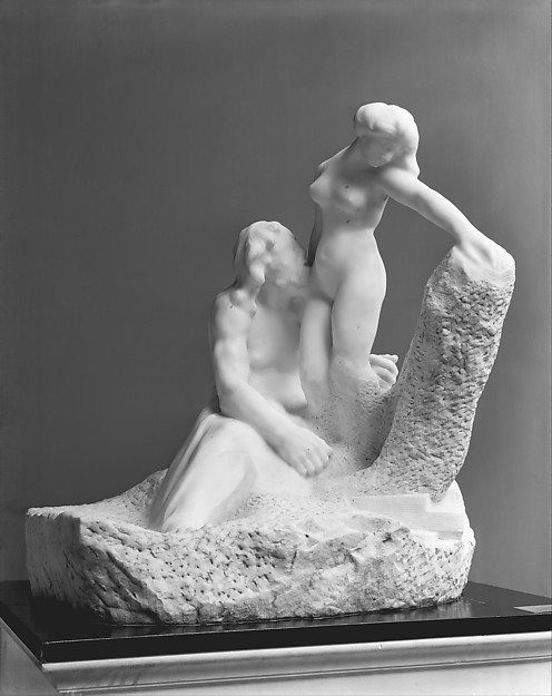Auguste Rodin (1840–1917), Pygmalion and Galatea, modeled 1889, executed ca. 1908–9
