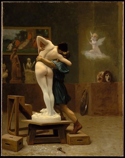 Jean-Léon Gérôme (1824–1904), Pygmalion and Galatea, ca. 1890