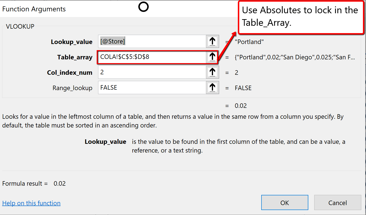5 1 Table Basics Beginning Excel
