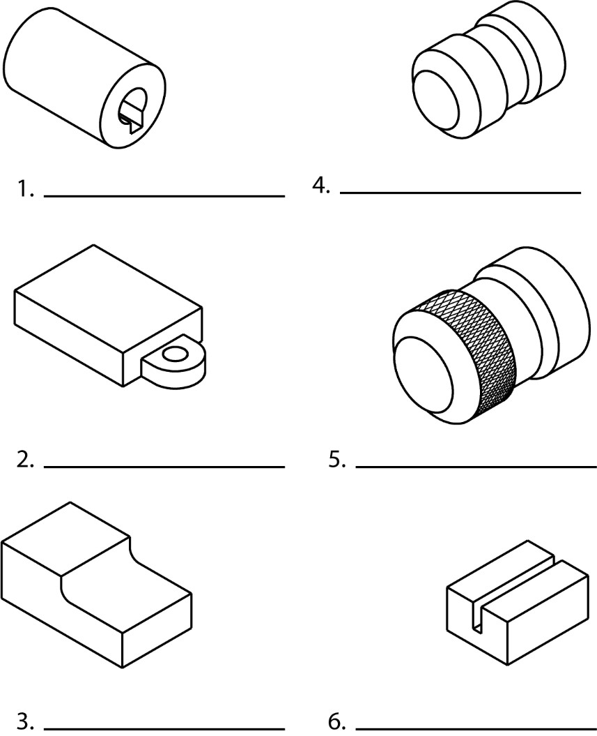 Machined Features