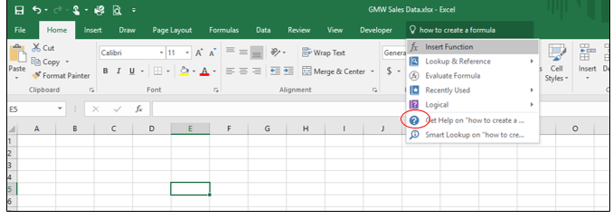 11 Overview of Microsoft Excel  Beginning Excel