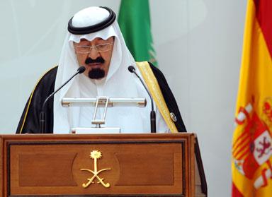 Abdullah opening Madrid Interfaith Conference