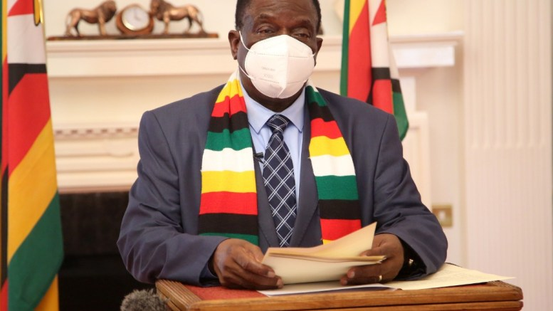 Mnangagwa tables 27 Bills for the 4th Session