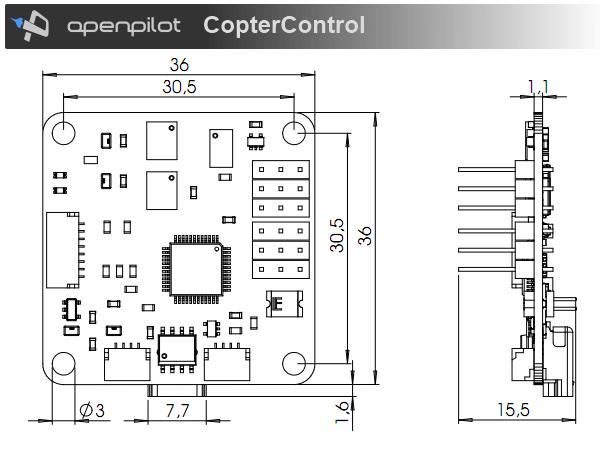 CopterControl / CC3D / Atom Hardware Setup — LibrePilot