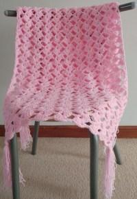 Crochet Romantic Lacy Shawl Pattern ~ Dancox for