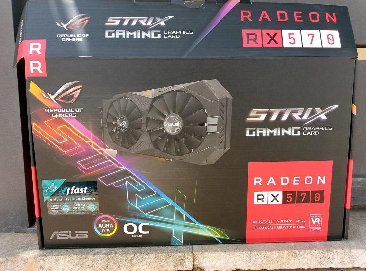 Asus STRIX RADEON RX570 Gaming OC