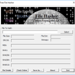 Windows File Hash Tool