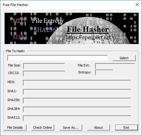 File Hash Tool