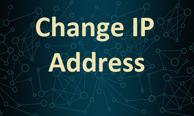 change IP address
