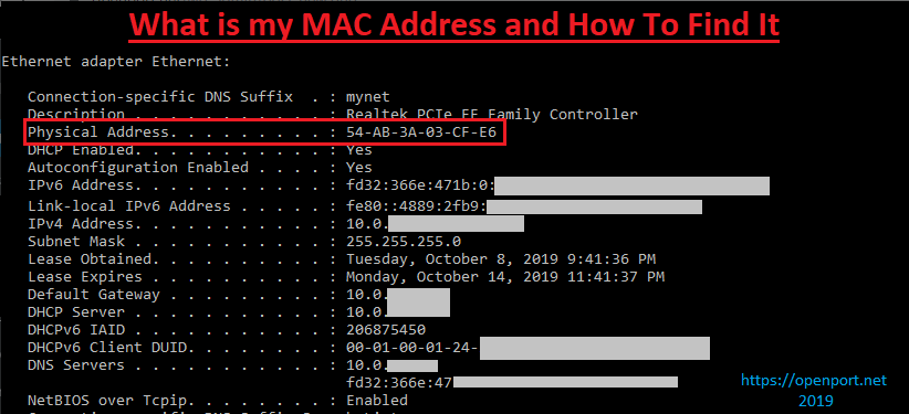What Is A Mac Address And How to Find It