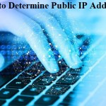How to Determine Public IP Address?
