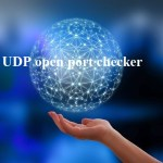 UDP open port checker how to check?