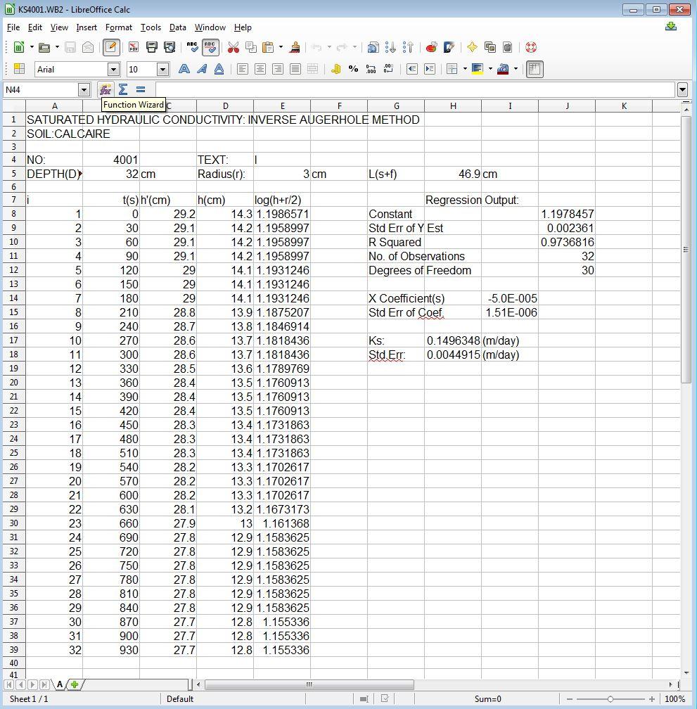 KS4001.WB2 in LibreOffice Calc v 4.1.3.2
