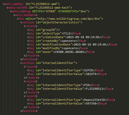 New File Characteristics