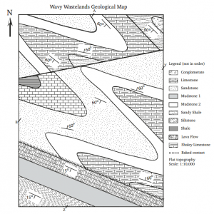 Exercises on Geological Structures Part 2: Folds, Faults