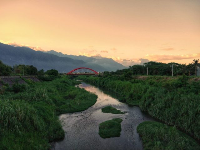 Sunset in Hualien