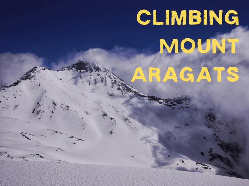 Climbing Mount Aragats